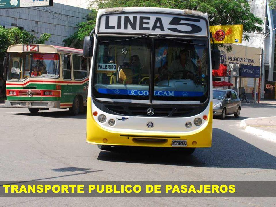TRANSPORTE PUBLICO DE PASAJEROS
