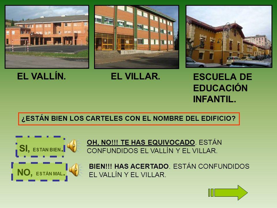 EL VALLÍN.EL VILLAR.ESCUELA DE EDUCACIÓN INFANTIL.