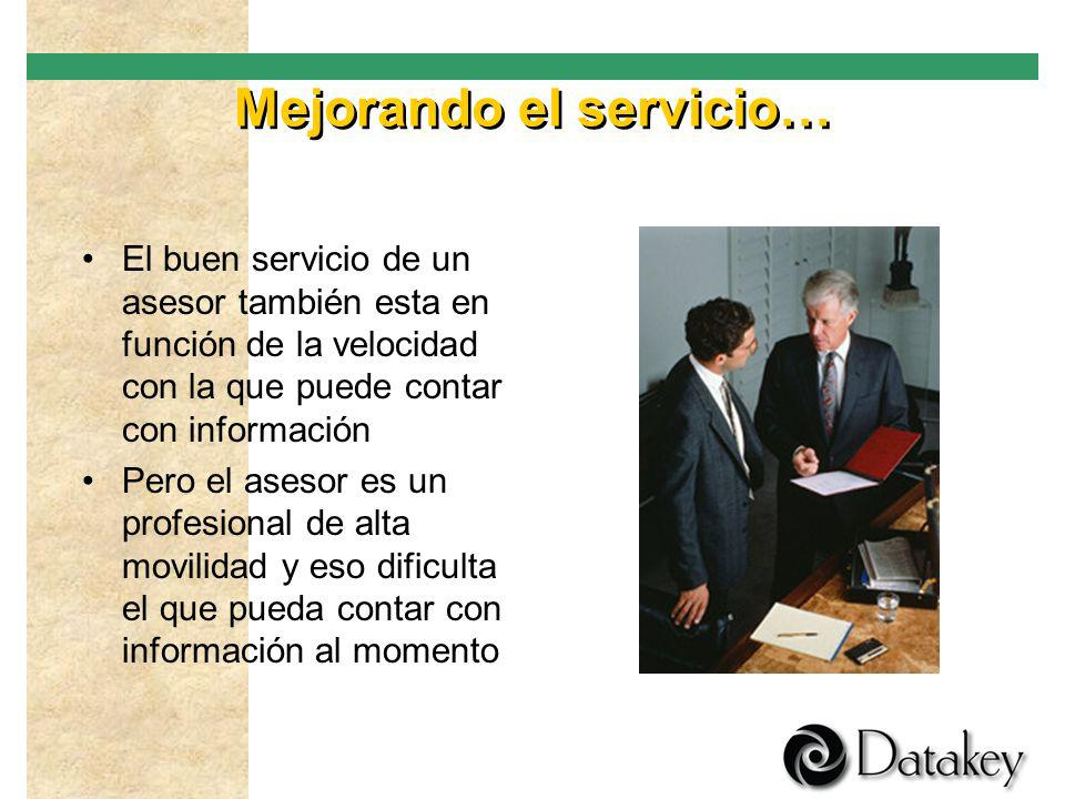 Para rematar… El asesor generalmente tiene poca o ninguna experiencia con sistemas de información por lo que no puede utilizar cualquier herramienta s