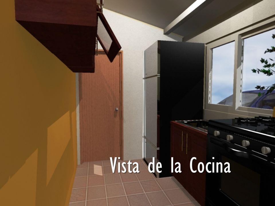 Vista de la Cocina