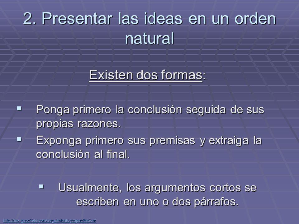 http://mx.geocities.com/seguimientoycapacitacion/ Argumentos deductivos en varios pasos.
