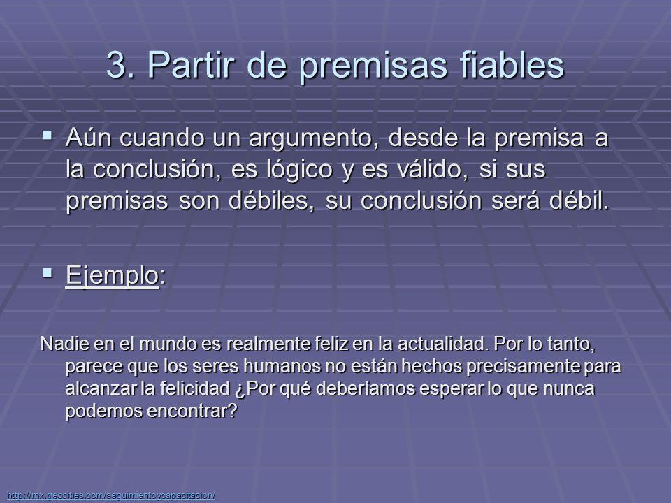 http://mx.geocities.com/seguimientoycapacitacion/ Recomendaciones para desarrollar los argumentos en forma completa.