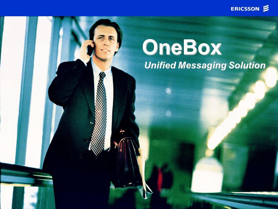 ING. MA.EUGENIA CARBAJAL ZAYAS ERICSSON ENTERPRISE SYSTEMS OneBox