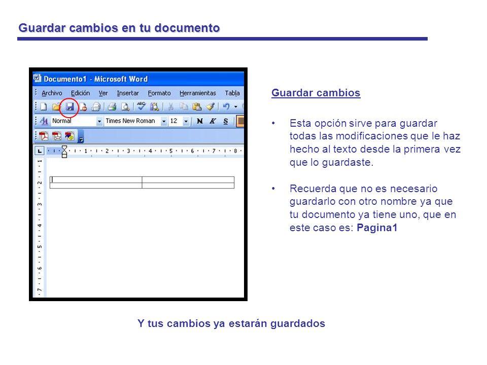 Impresión de tu documento Impresión del documento Con esta opción podrás imprimir tu documento directamente solo con apretar un click.