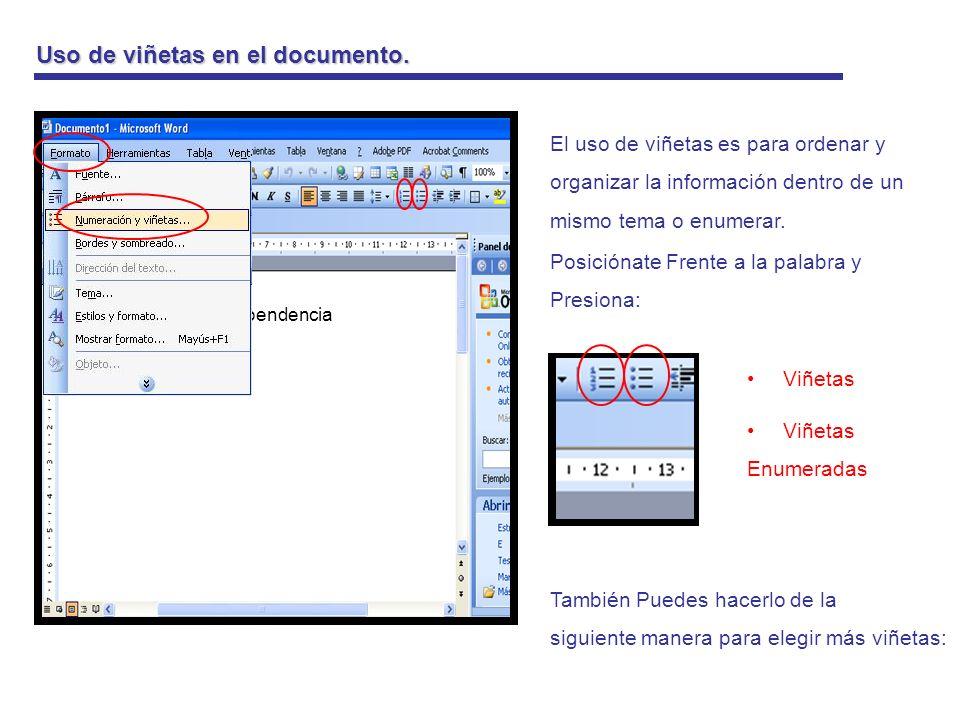Uso de la barra de dibujos WordArt Es una forma decorada de texto Como por ejemplo: para títulos.