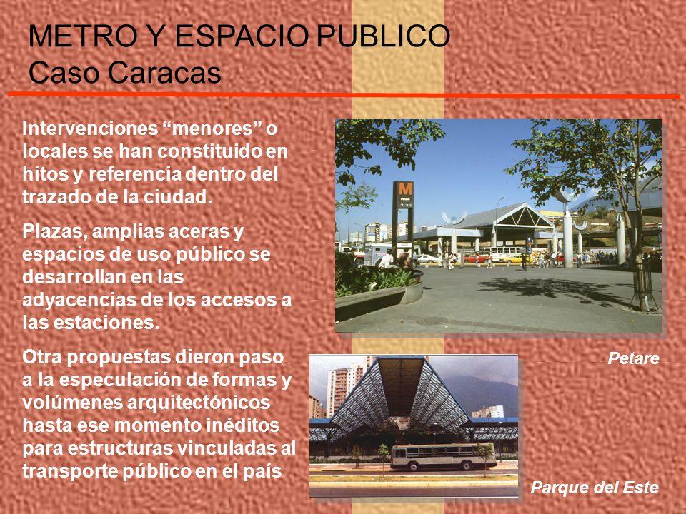Intervenciones menores o locales se han constituido en hitos y referencia dentro del trazado de la ciudad. Plazas, amplias aceras y espacios de uso pú