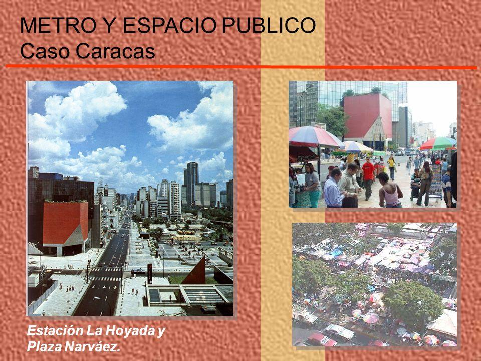 Estación La Hoyada y Plaza Narváez. METRO Y ESPACIO PUBLICO Caso Caracas