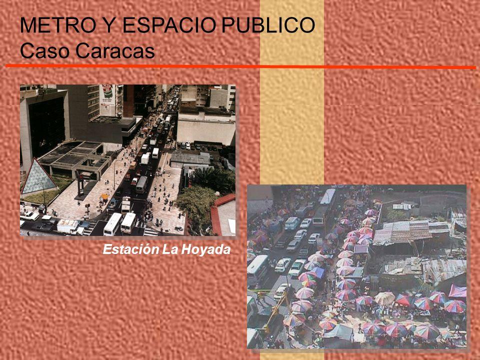 Estación La Hoyada METRO Y ESPACIO PUBLICO Caso Caracas
