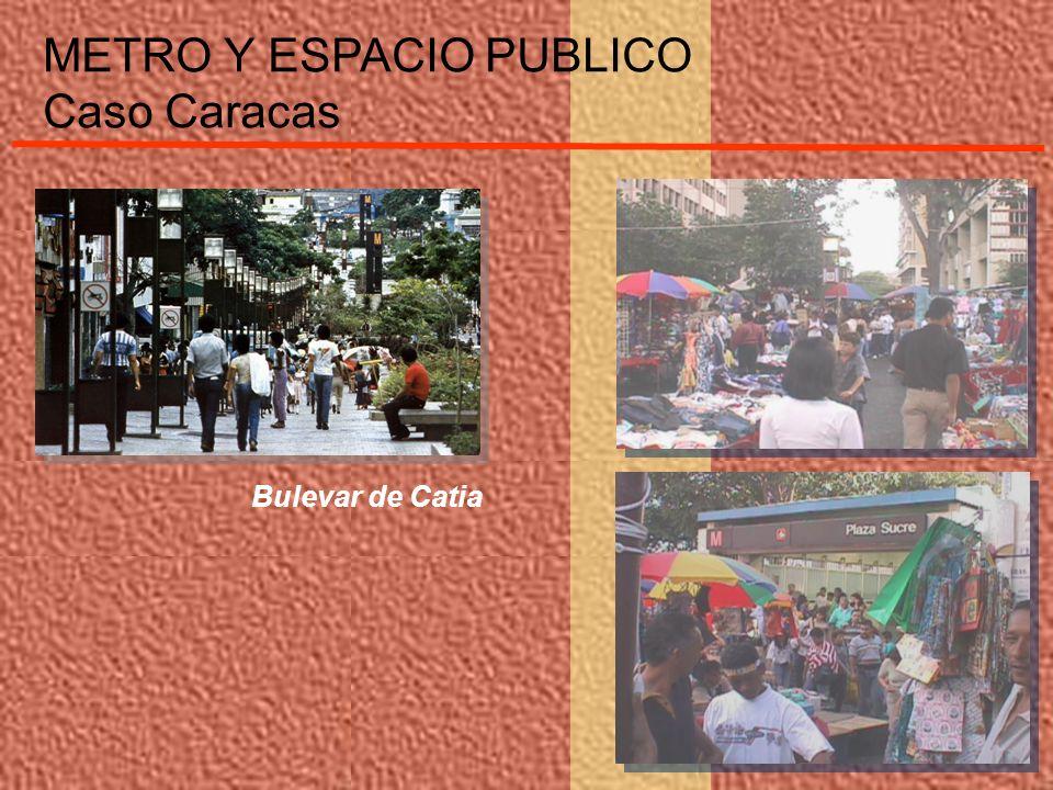 Bulevar de Catia METRO Y ESPACIO PUBLICO Caso Caracas