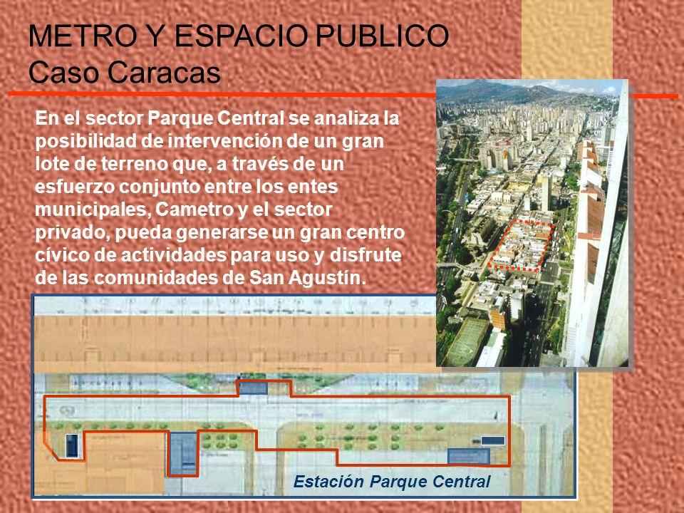 En el sector Parque Central se analiza la posibilidad de intervención de un gran lote de terreno que, a través de un esfuerzo conjunto entre los entes