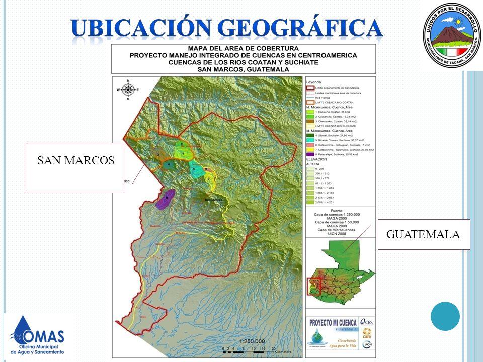 DATOS GENERALES DE TACANA Es uno de los 29 municipios del departamento de San Marcos, fronterizo con Chiapas México.
