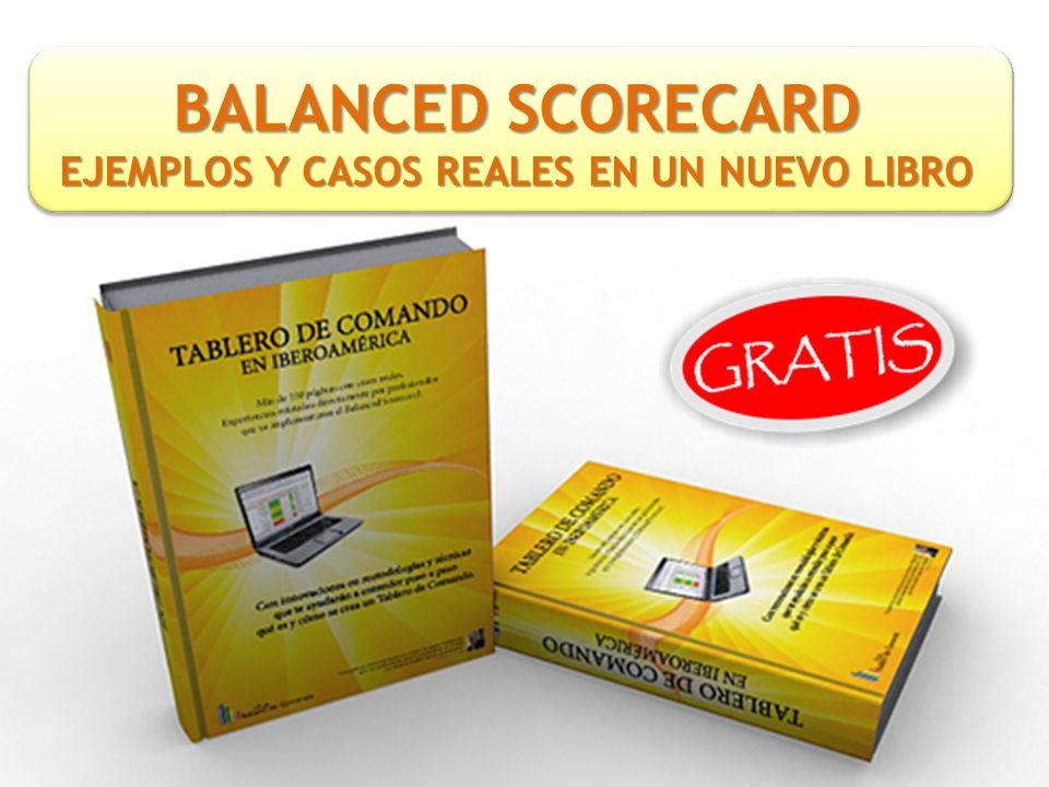 BALANCED SCORECARD EJEMPLOS Y CASOS REALES EN UN NUEVO LIBRO