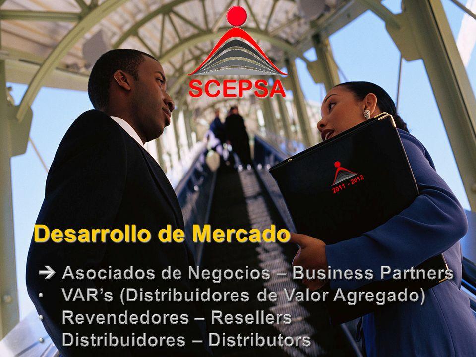 SCEPSA Desarrollo de Mercado SCEPSA 2011 - 2012