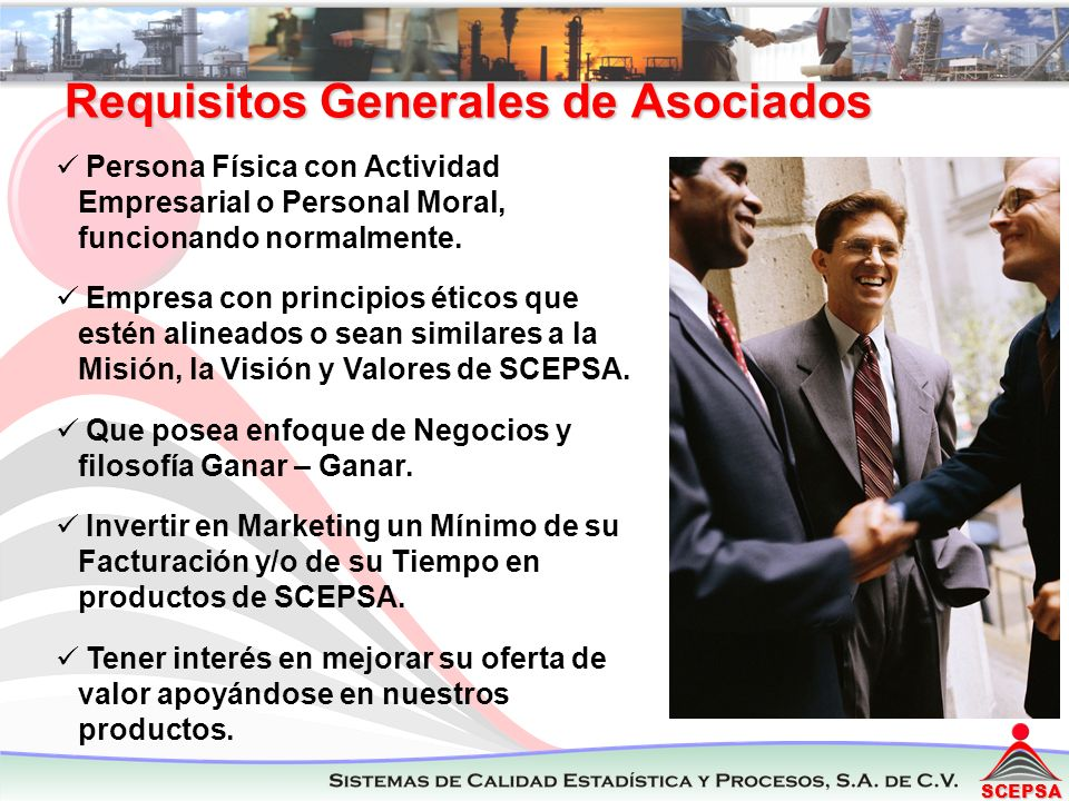 SCEPSA Persona Física con Actividad Empresarial o Personal Moral, funcionando normalmente.