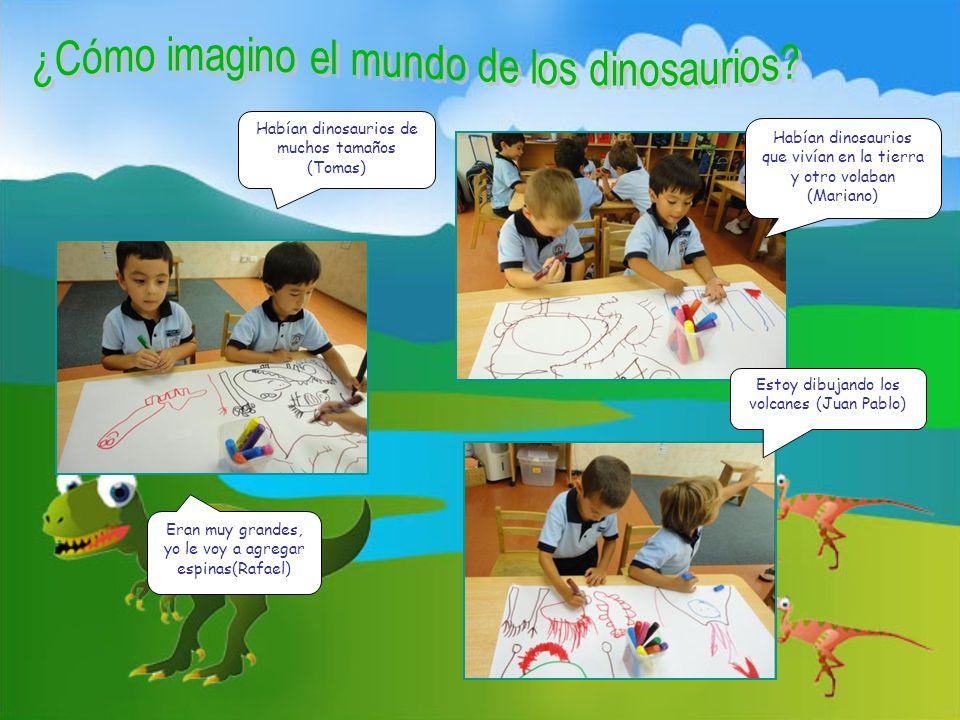 Usamos nuestra imaginación para crear una maravillosa historia…donde los dinosaurios éramos NOSOTROS.