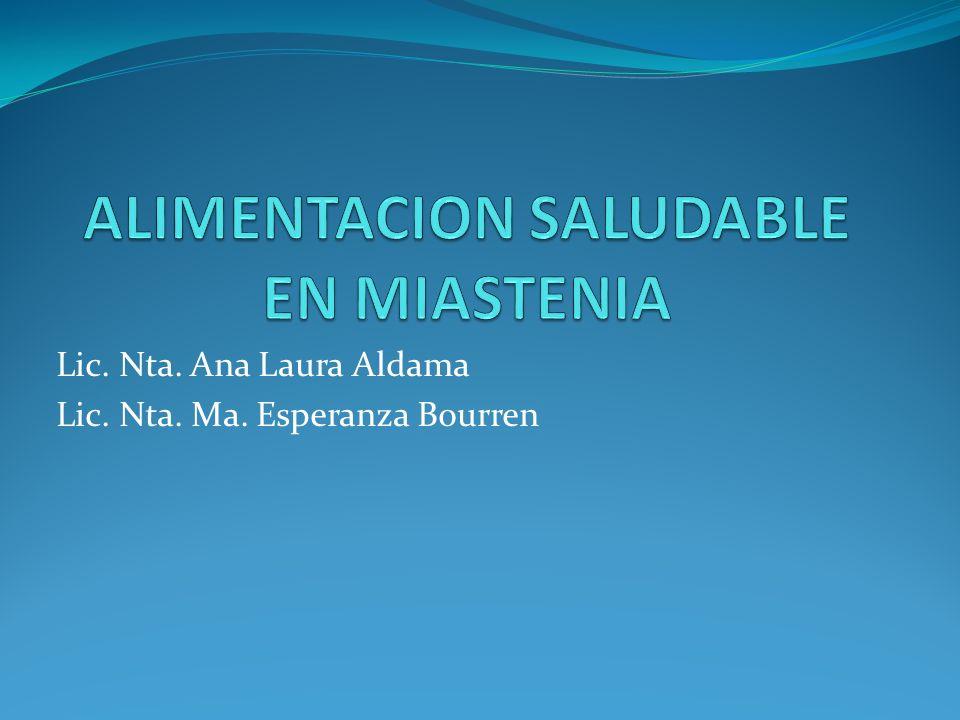 Lic. Nta. Ana Laura Aldama Lic. Nta. Ma. Esperanza Bourren