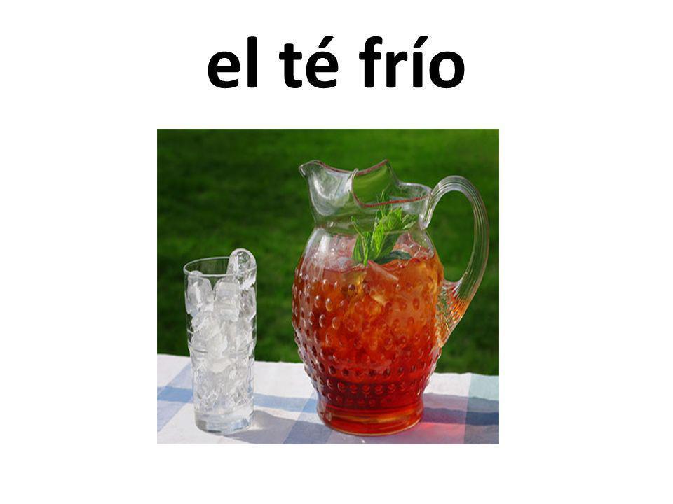 el té frío