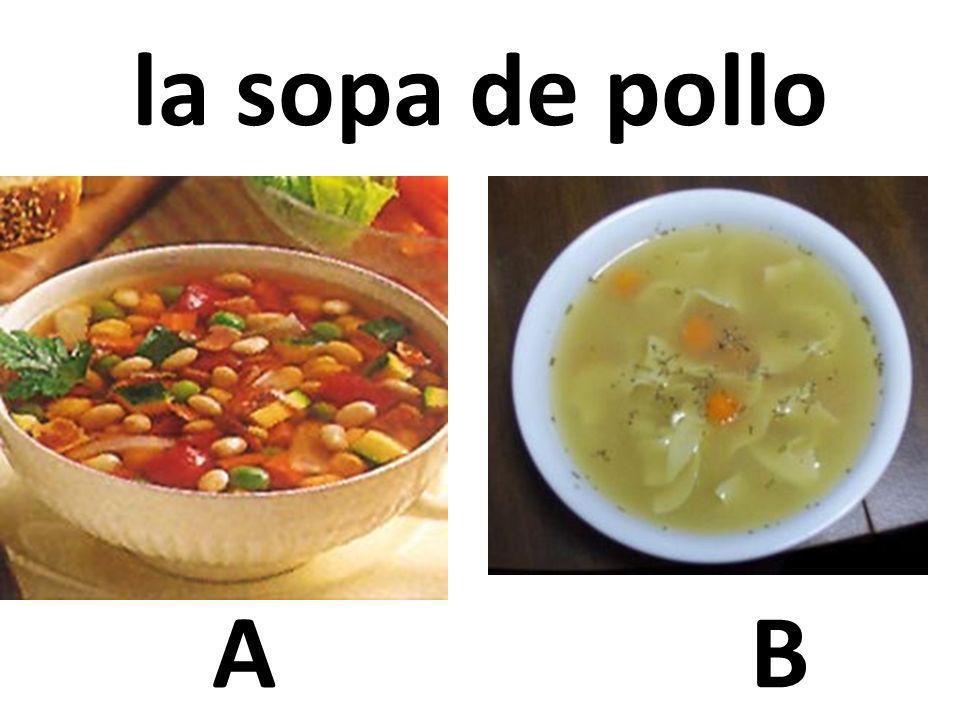 AB la sopa de pollo