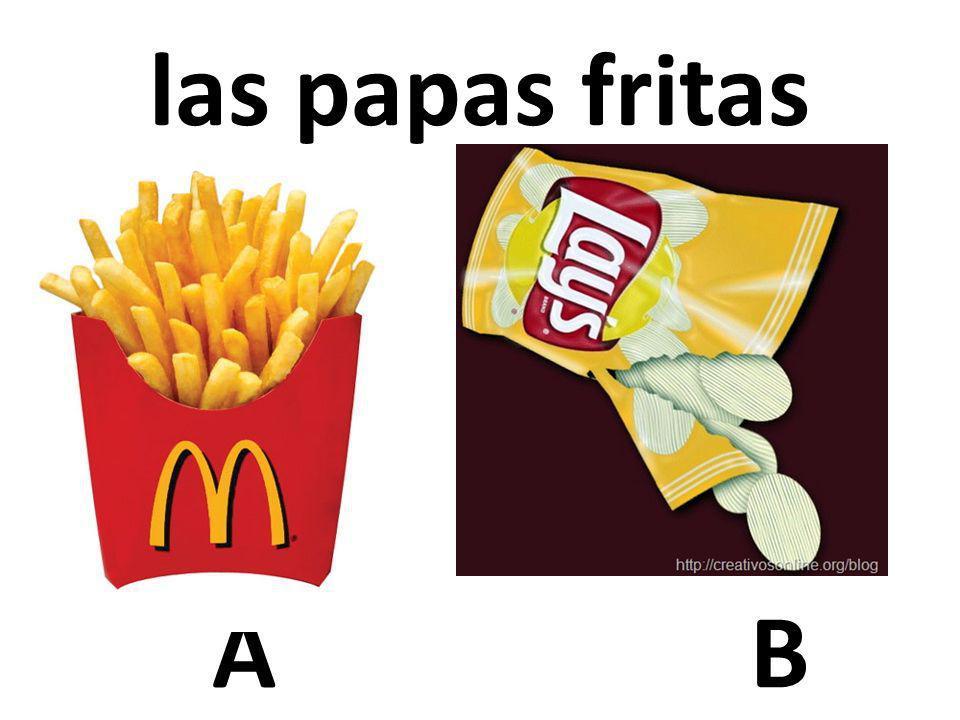 AB las papas fritas