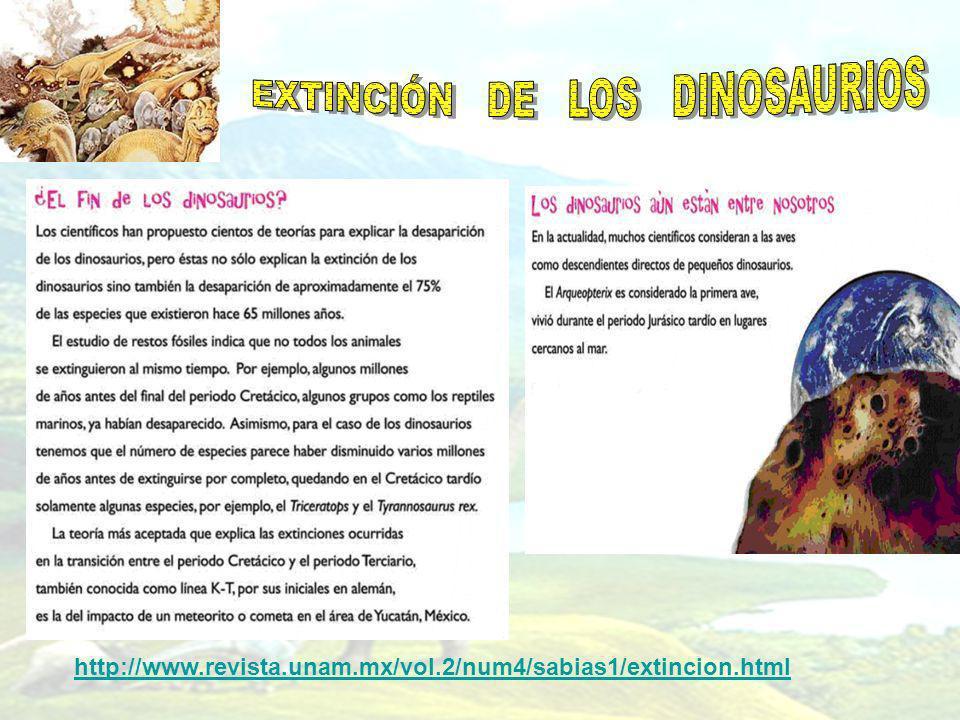 http://www.revista.unam.mx/vol.2/num4/sabias1/extincion.html