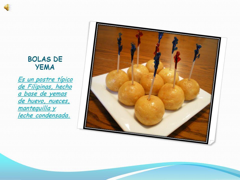 INGREDIENTES -Tres huevos (solo la yema) -Nueces molidas -Mantequilla -Leche condensada (bote pequeño).