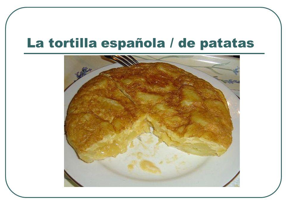 La tortilla española / de patatas