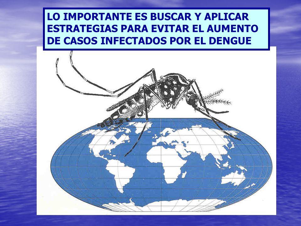 Informar a la población a cerca de la importancia de evitar de aquellos pacientes enfermos de Dengue, sean picados nuevamente por mosquitos mientras se encuentran en la fase febril, para evitar la propagación de la enfermedad.