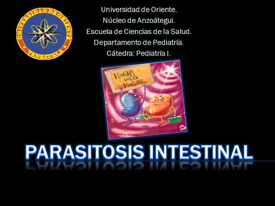 Universidad de Oriente. Núcleo de Anzoátegui. Escuela de Ciencias de la Salud. Departamento de Pediatría. Cátedra: Pediatría I.