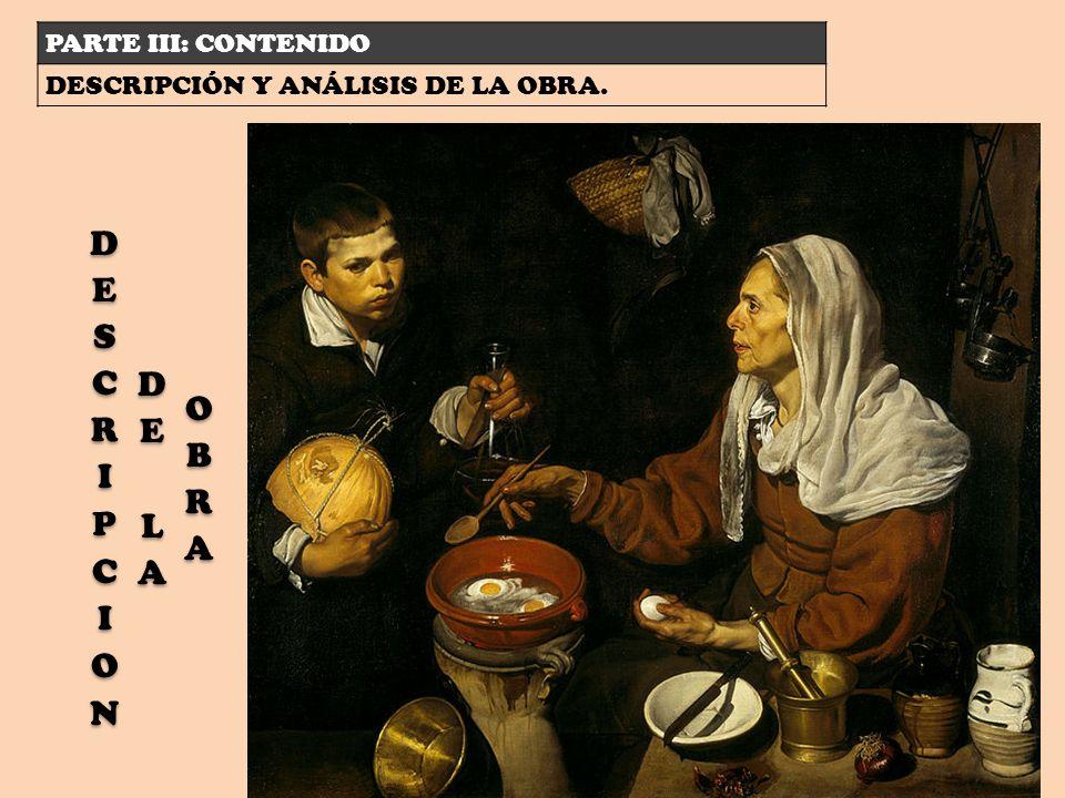 PARTE III: CONTENIDO DESCRIPCIÓN Y ANÁLISIS DE LA OBRA.