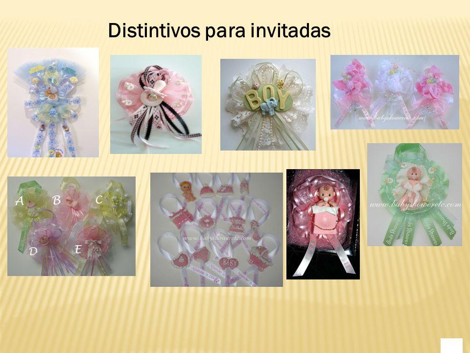 Distintivos para invitadas