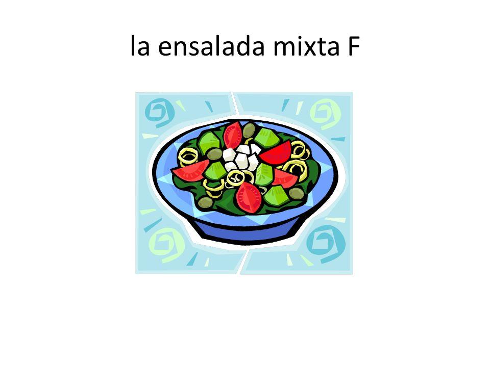 la ensalada mixta F