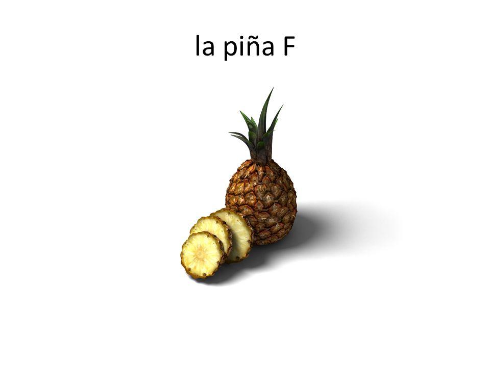 la piña F