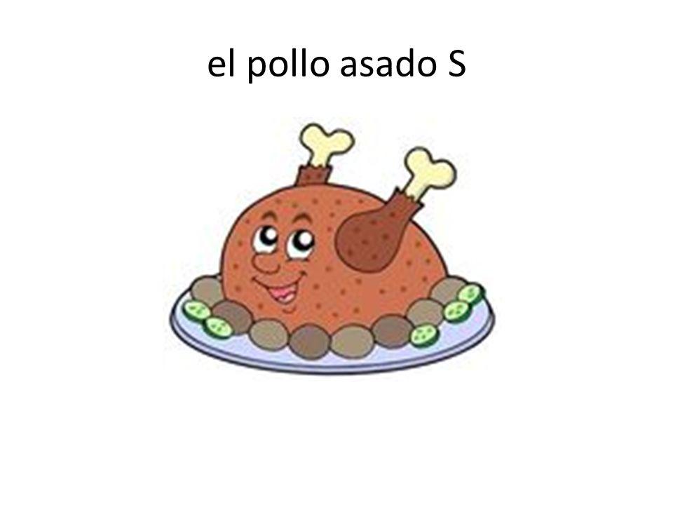 el pollo asado S