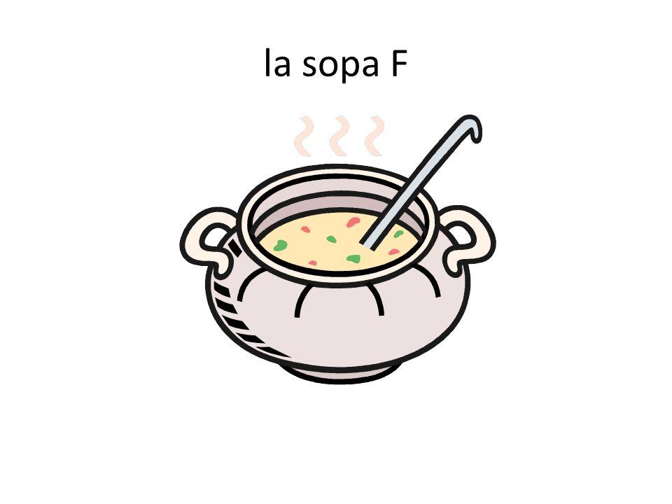 la sopa F