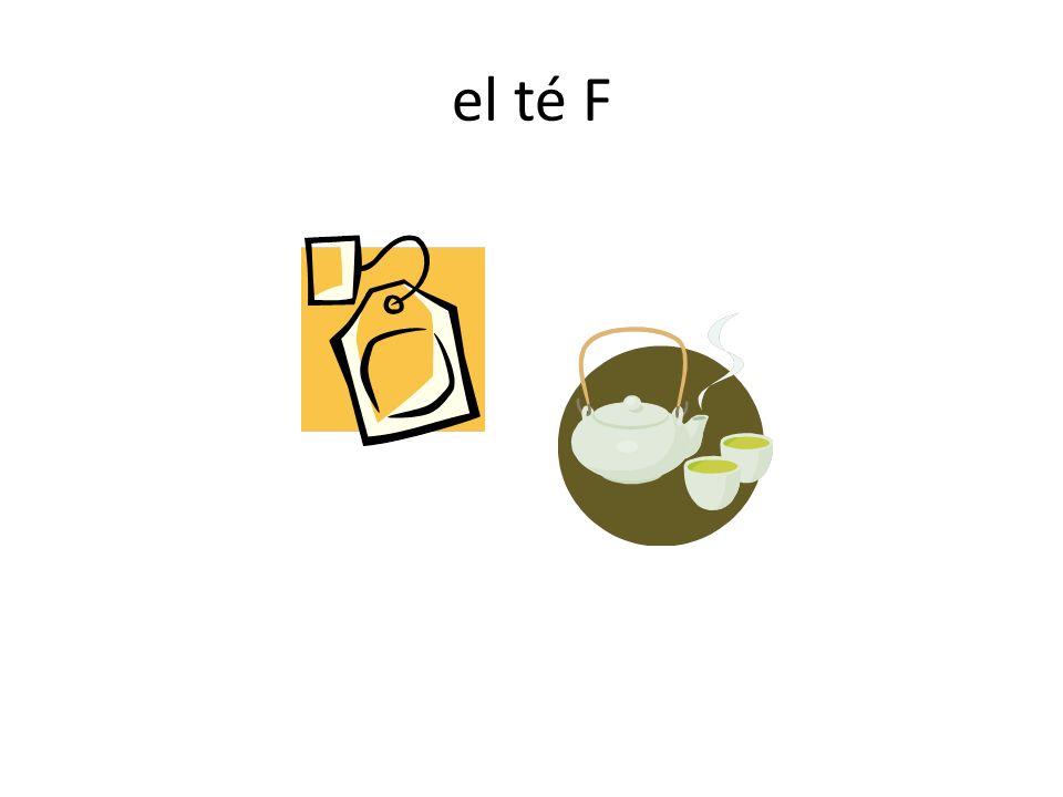 el té F