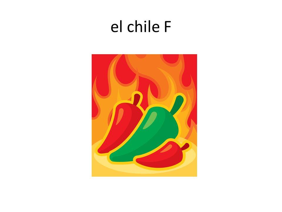 el chile F