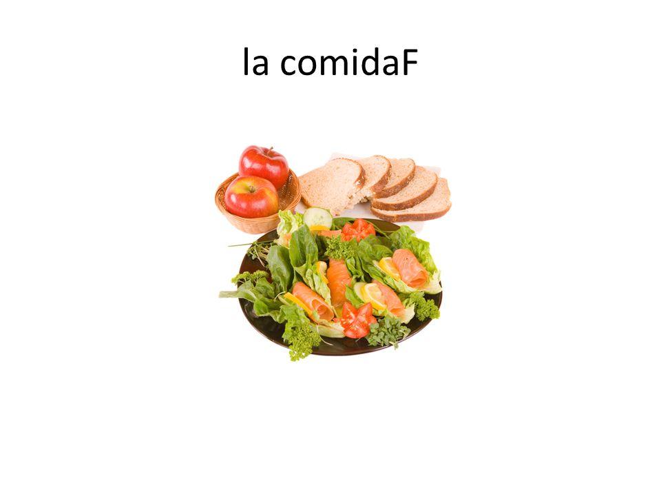 la comidaF