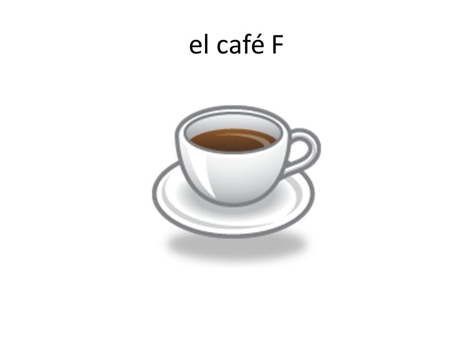el café F