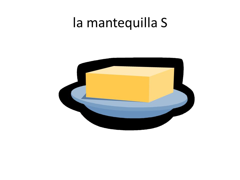 la mantequilla S