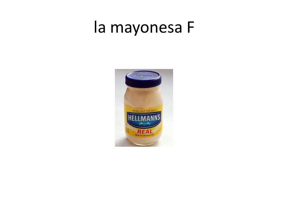 la mayonesa F