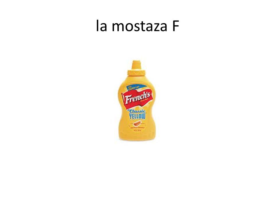 la mostaza F