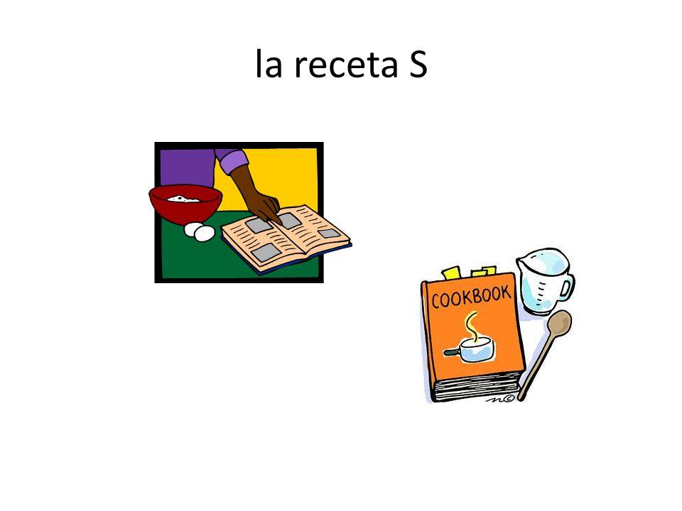 la receta S