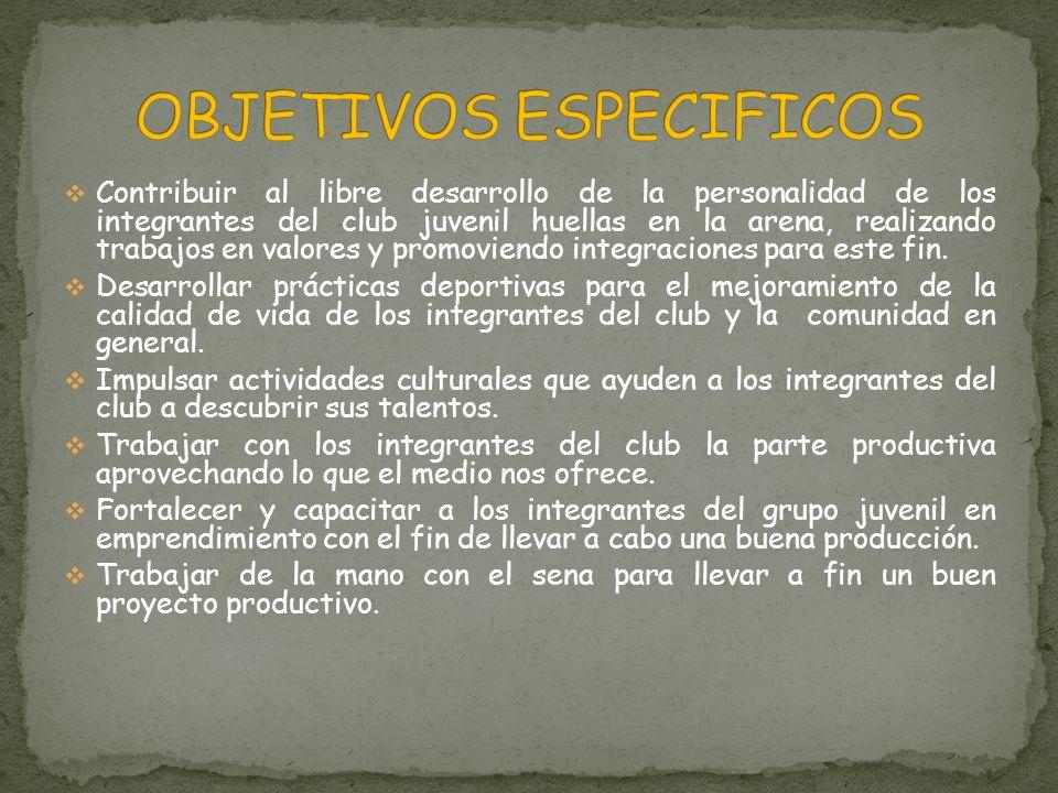 En la década de los 80, existió un Club Juvenil en la Vereda del Pescado del cual fueron sus animadores el señor Daniel Gallo y la joven Gloria Emilse Guzmán, después de esto hubo un periodo en que no existió grupo.