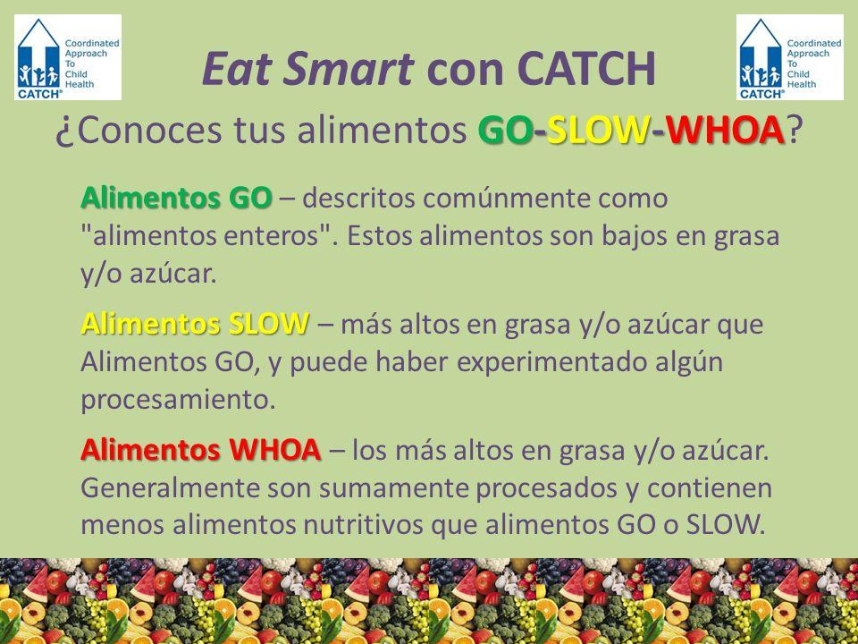 ¿GO, SLOW o WHOA.Paletas = WHOA Hechas con azúcar agregada y sabor de fruta, no fruta natural.