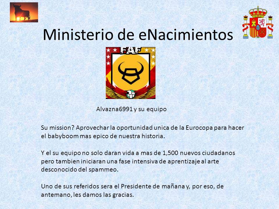 Ministerio de eNacimientos Alvazna6991 y su equipo Su mission.