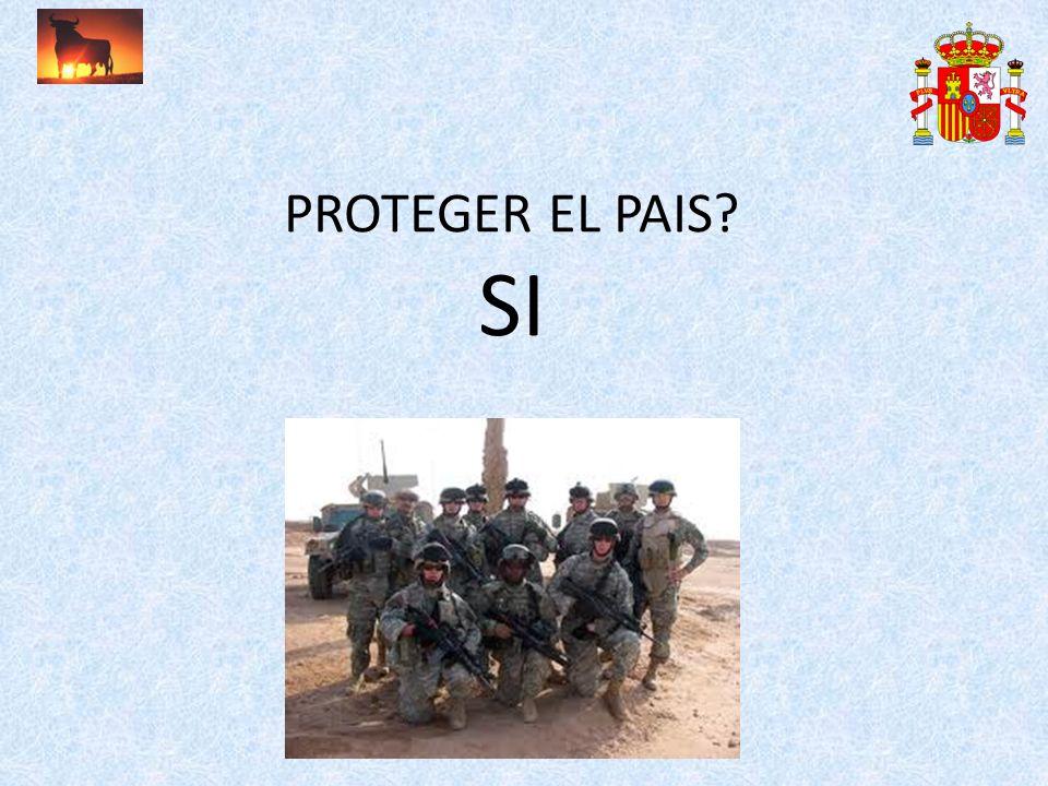 PROTEGER EL PAIS SI