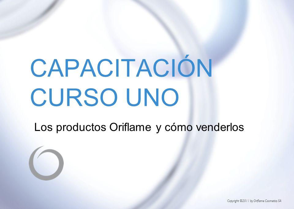 Copyright ©2011 by Oriflame Cosmetics SA CAPACITACIÓN CURSO UNO Los productos Oriflame y cómo venderlos