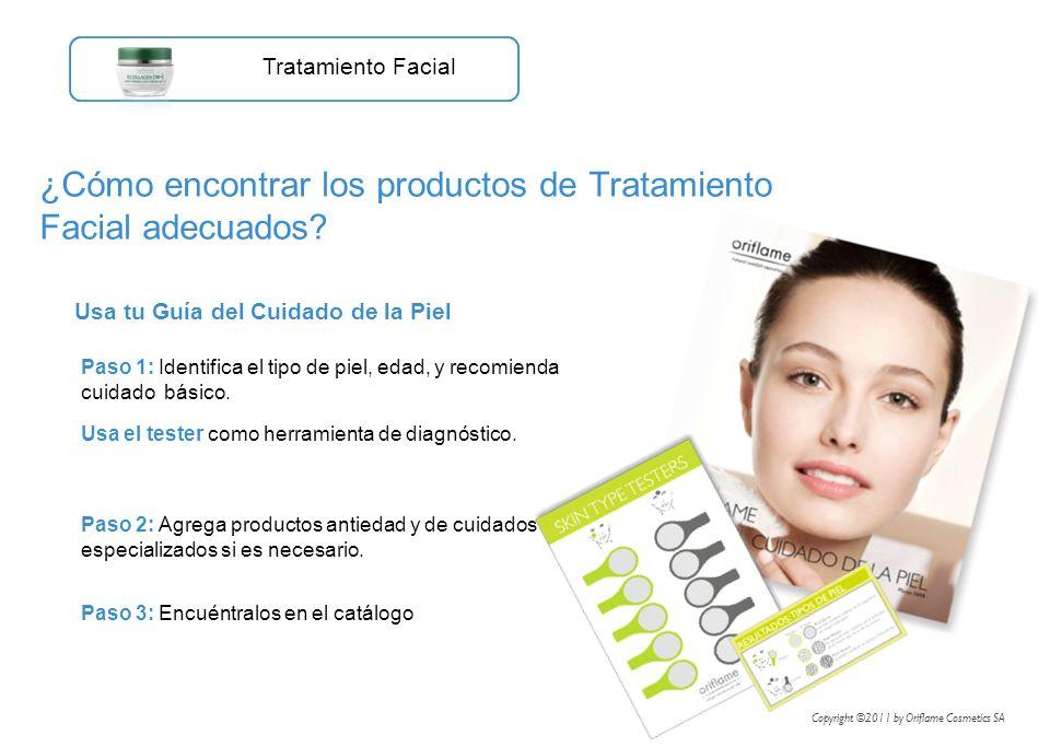 Usa tu Guía del Cuidado de la Piel ¿Cómo encontrar los productos de Tratamiento Facial adecuados? Tratamiento Facial Paso 1: Identifica el tipo de pie