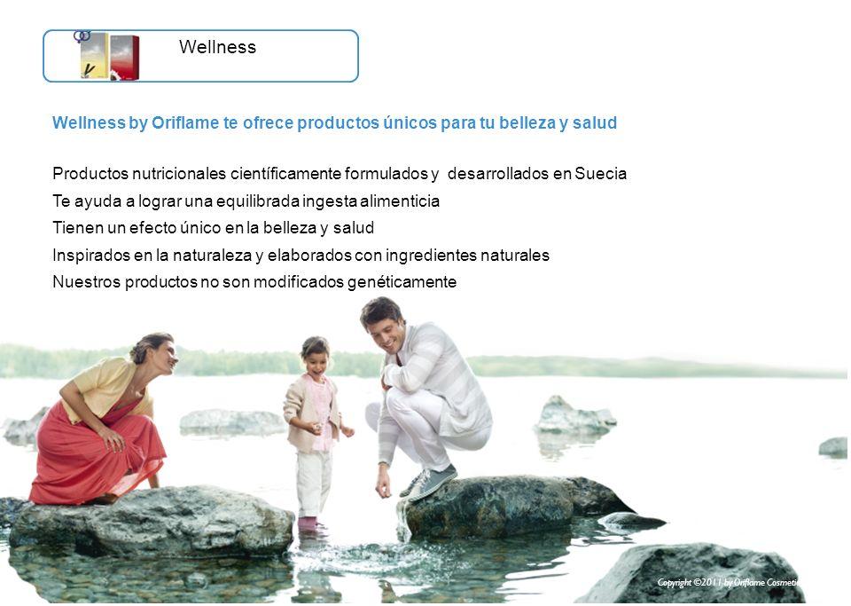 Wellness by Oriflame te ofrece productos únicos para tu belleza y salud Productos nutricionales científicamente formulados y desarrollados en Suecia T