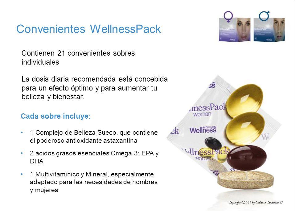 Contienen 21 convenientes sobres individuales La dosis diaria recomendada está concebida para un efecto óptimo y para aumentar tu belleza y bienestar.